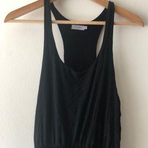 TOBI Black Racerback Maxi Dress S